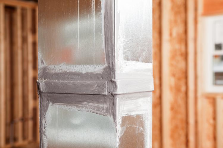 duct sealing image